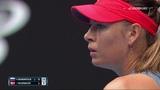 Maria Sharapova vs Caroline Wozniacki Australian Open 2019