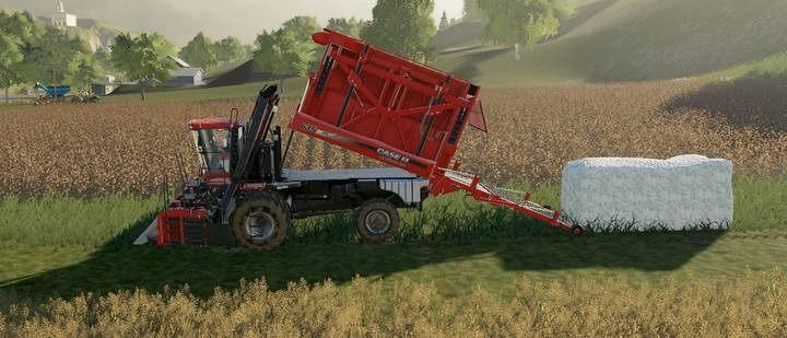 Хлопковые тюки в Farming Simulator 2019
