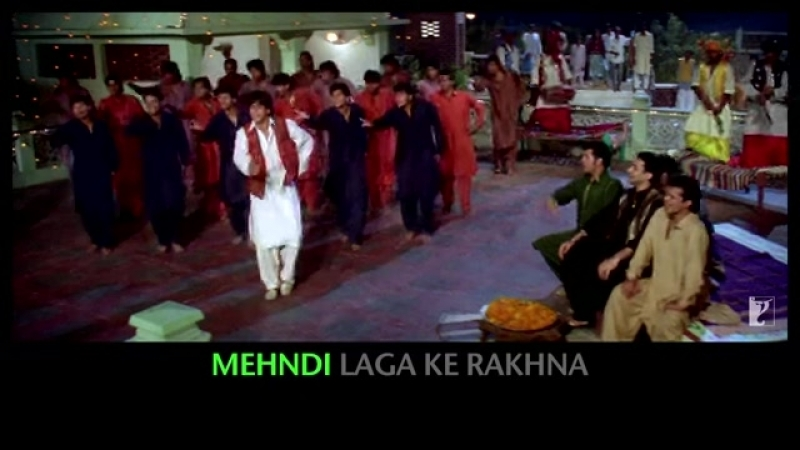 Lyrical Mehndi Laga Ke Rakhna Song with Lyrics