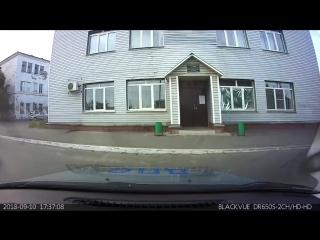 В Сызрани сотрудники Госавтоинспекции пришли на помощь водителю с ребенком