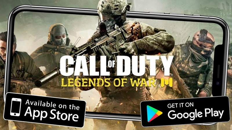 ЗОМБИ В Call of Duty: Legends of War ANDROID! ссылка!