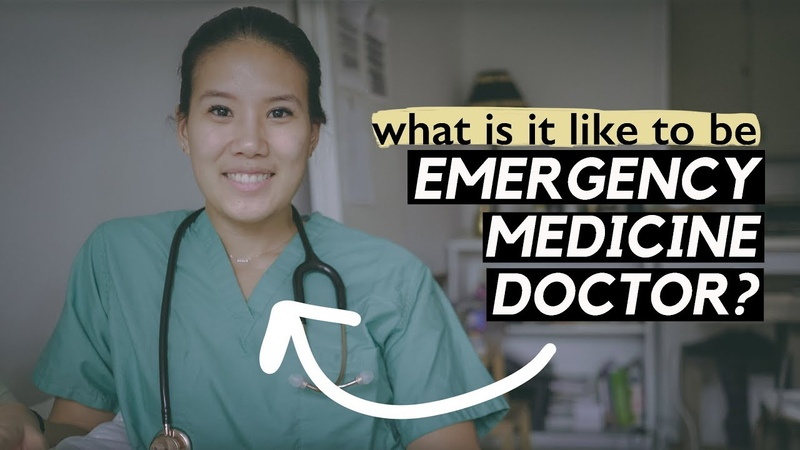 What's it like to be EMERGENCY MEDICINE DOCTOR