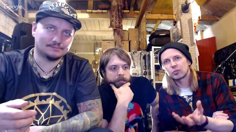 Прямая трансляция панк-группы План Ломоносова