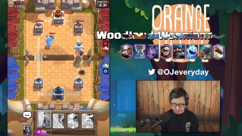 [Orange Juice Gaming] Recognizing Patterns in Reddit Blind Deck Challenge   Clash Royale 🍊