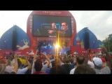 ЛУЧШИЙ DJ планеты 1998-1999 года ЛЕГЕНДАРНЫЙ Paul Oakenfold в московской фан-фест зоне FIFA World Cup Russia (ч1) @ 2018.07.14