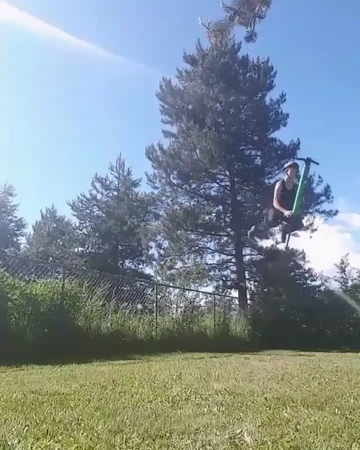 """Vurtego Pogo Sticks on Instagram: """"@pogokkellogg ABSOLUTELY going off. We saw him battle this combo for days, so stoked to see him land it, so clea..."""