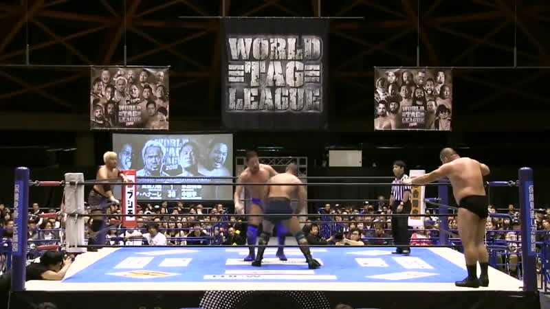 NJPW World Tag League 2018 - Tag 3 (20.11.2018)