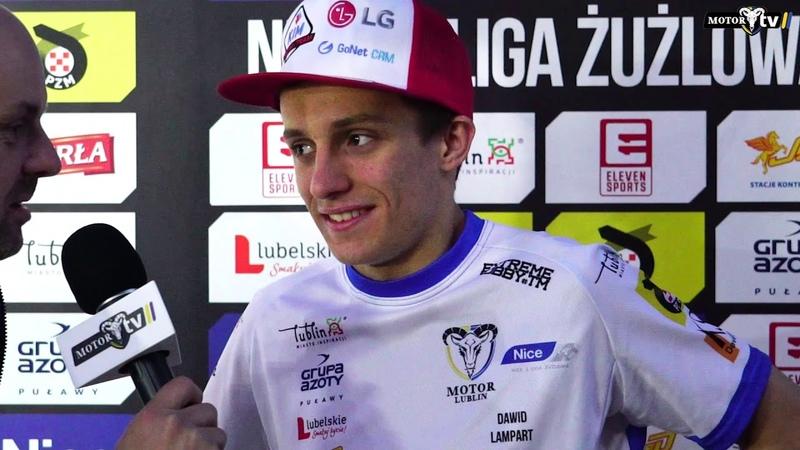 Wiktor Lampart po meczu z ROW Rybnik | 28.04.2018