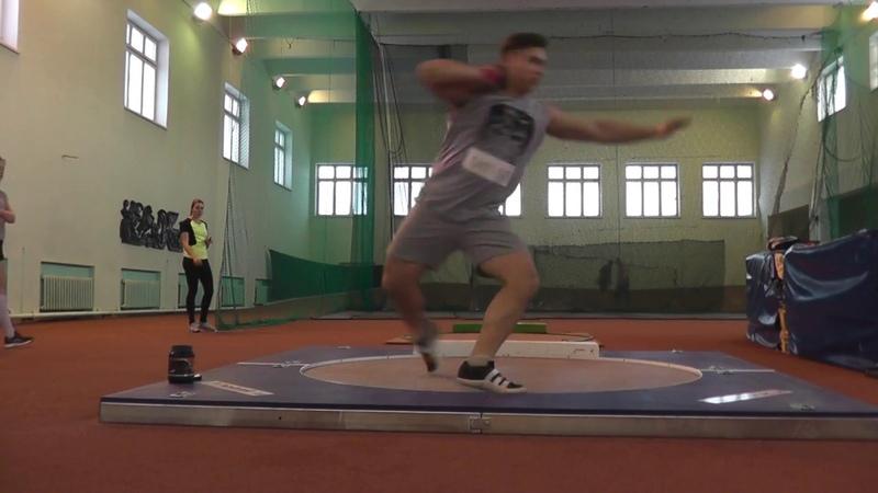 Самусев Михаил толкание ядра