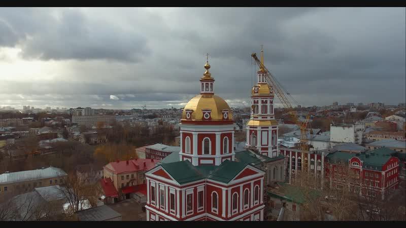 Освящение и установка колокола «Благовест» в Спасском соборе Кирова