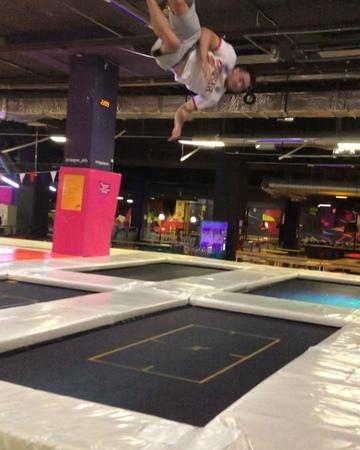 КОЛЕСНИКОВ АНДРЕЙ on Instagram trampoline trampolinepark gym gymnastics circus acro acrobatics tumbling wof wwf trick23 worldtrick23