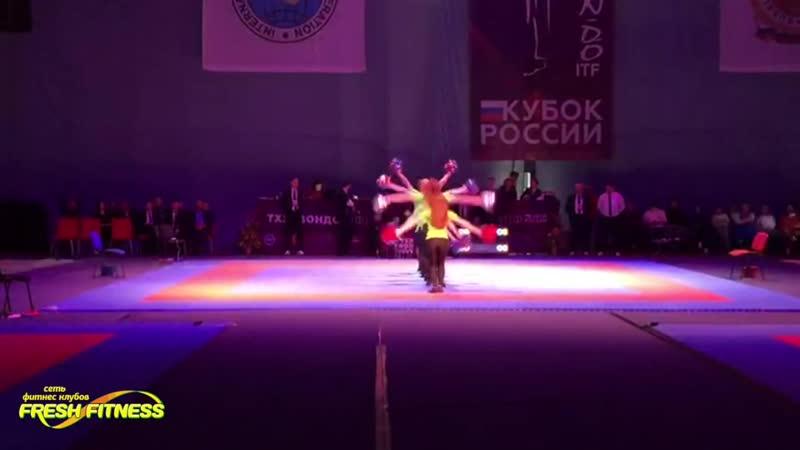 Поддержка от Фреш Фитнес участников соревнований по тхэквондо Кубок России 2018