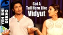 I Was Happy Just By The Fact That I Got A Tall Hero Like Vidyut Jammwal Huma Qureshi