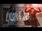 Scarlet Witch &amp Polaris Live Like Legends