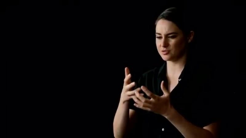 Шейлин о желании стать частью фильма Во власти стихии