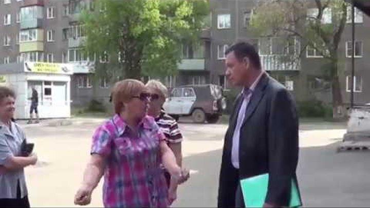 Путинский чиновник будущий мэр показал как надо общаться с чернью