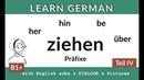 Ziehen Präfixe IV Lern Deutsch B2 C1