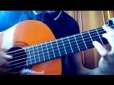 Ed Sheeran - Shape of You на гитаре (fingerstyle guitar)