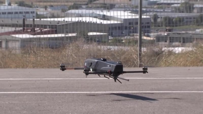 Новый израильский сверхлегкий ударный беспилотник-камикадзе Rotem