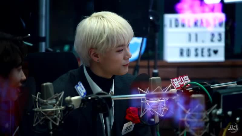 [21.11.2018] Moonbin (ASTRO) @ MBC Idol Radio