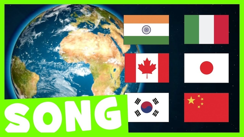 Countries Hello Song | Say Hello in Different Languages