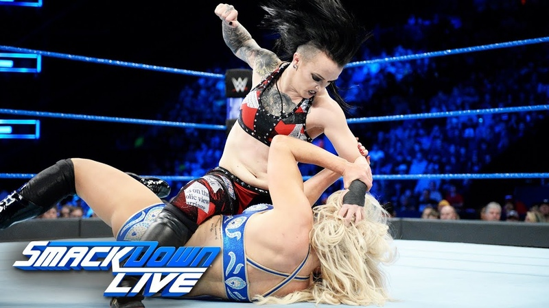 Charlotte Flair vs Ruby Riott SmackDown LIVE Dec 12 2017