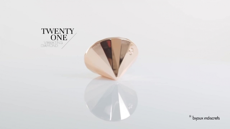 Twenty One, the vibrating diamond by Bijoux Indiscrets