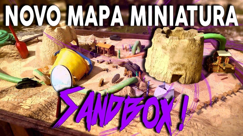 SOLDADINHOS EM UMA CAIXA DE AREIA?! NOVO MAPA SANDBOX - CoD WW2