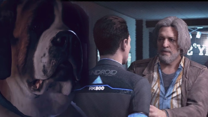 Connor/Hank and Sumo :D • GMV • Detroit: Become Human