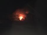 Очевидец: прямо сейчас горит жилой дом в Кобринском районе аг. Дивин