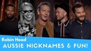 ROBIN HOOD: Giving Aussie Nicknames and Fun!