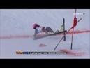 Горные лыжи Слалом Падения Чудеса на виражах