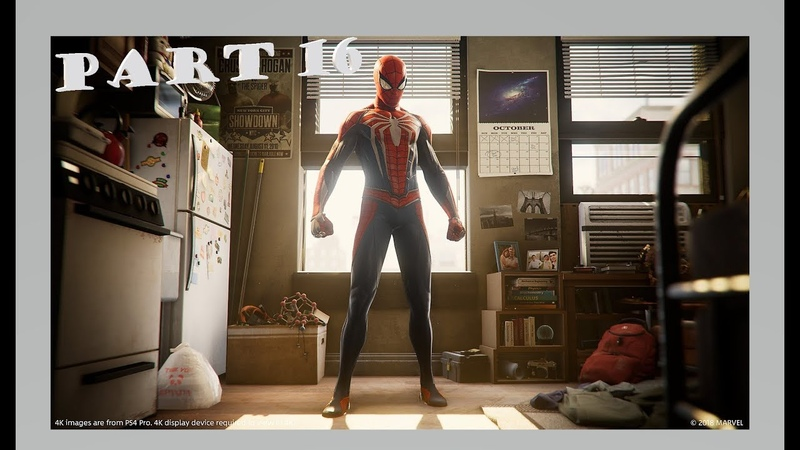 Marvel's Spider-Man Official Only PS4 Walkthrough Part 16 1080p