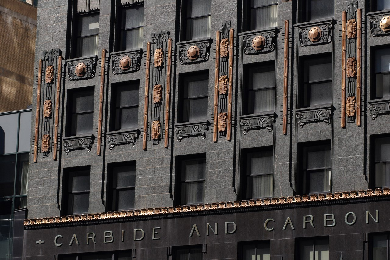The Most Beautiful Art Deco Skyscrapers Part 2: Carbide and Carbon Building, Chicago USA