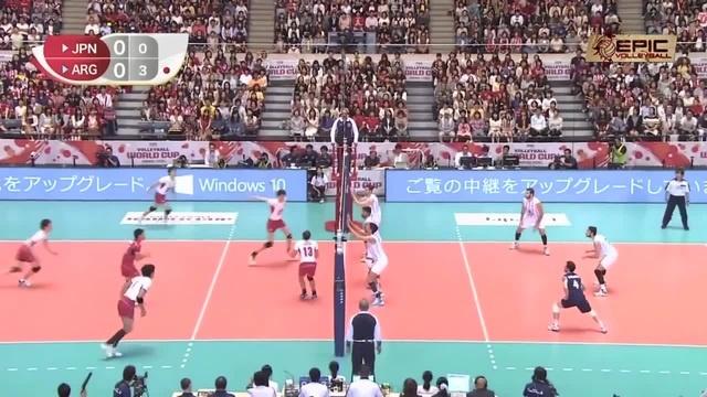 Volleyball Action By Yūki Ishikawa    Powerful Spike/Kill