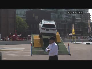 Jaguar Land Rover challenge at the Invictus Games in Toronto!