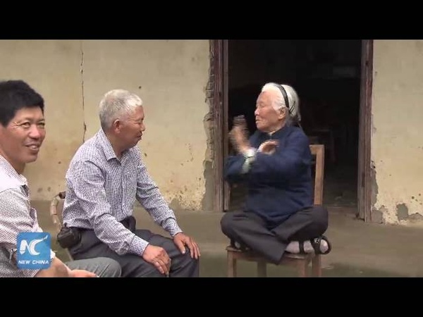 93-year-old Kungfu Granny practices martial arts for 90 years