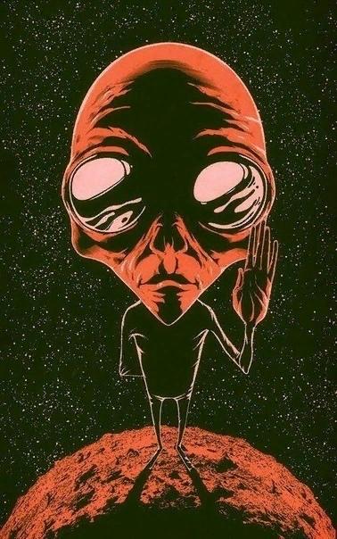 вот ждёшь когда тебя пришельцы в космический утащат мрак а им совсем такой не нужен дурак © soba4ki