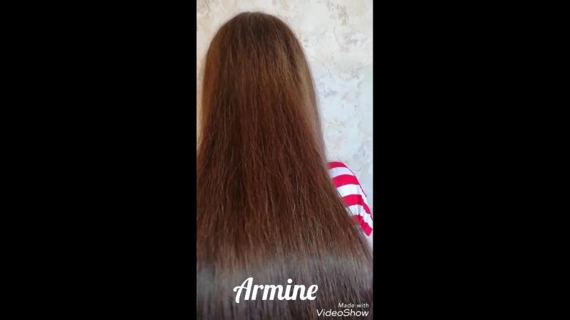 Сделана смывка волос от темного шатена покраска в один тон средне русый🤷♀️💇♀️💆♀️