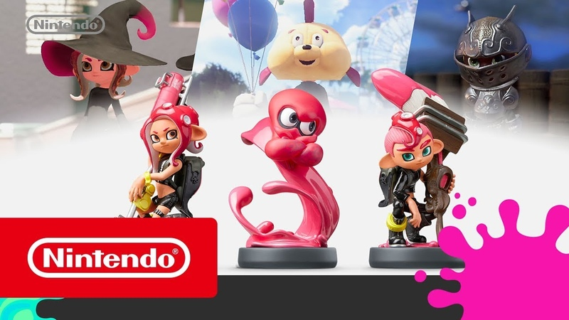 Merchandise - amiibo Octoling Triple Pack (amiibo Octoling Girl amiibo Octoling Boy amiibo Octoling Octopus)