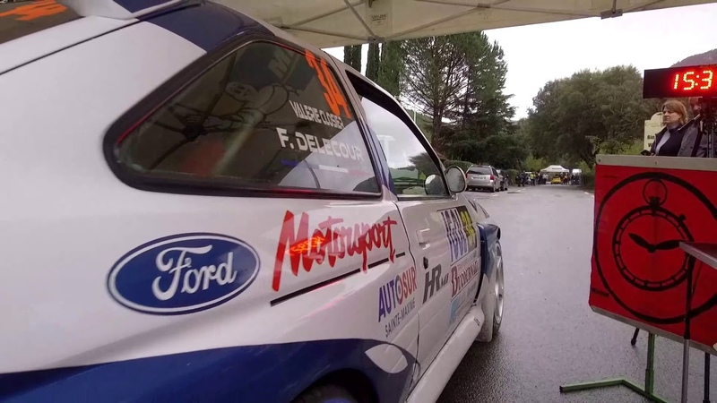🎬 Rallye du Var 2018 🇨🇵 - François DELECOUR - Ford Escort Cosworth