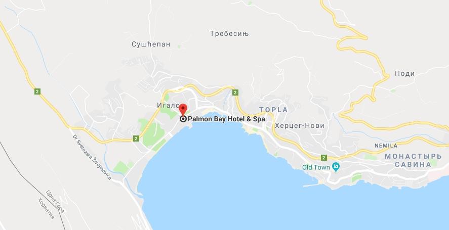 Отель Palmon Bay Hotel & Spa в Игало
