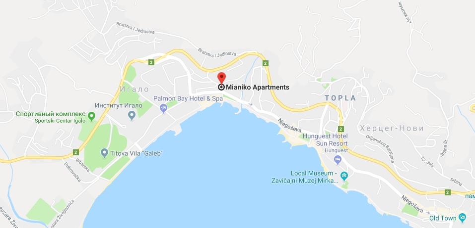 Отель Mianiko Montenegro в Игало