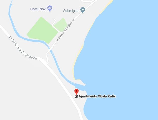 Отель Obala Katic в Игало