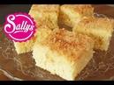 Kokoskuchen im Blech / einfacher Blechkuchen mit Buttermilch / sehr saftig