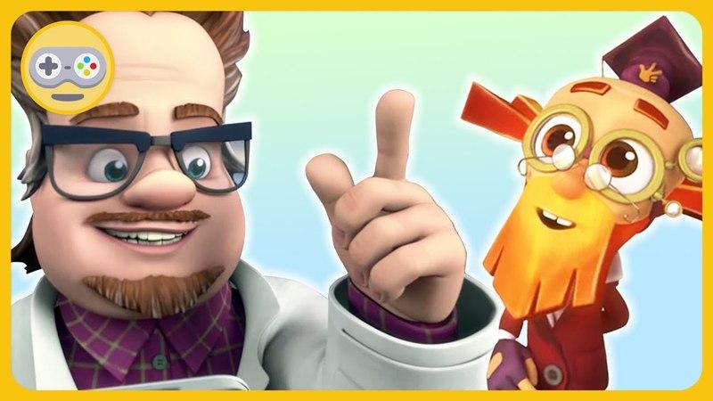 Фиксики Детективы * Загадочный сюрприз для Дедуса от профессора Чудакова * Игры на Kids PlayBox