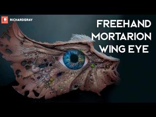 Richard Gray - Freehand Mortarion Wing Eye.