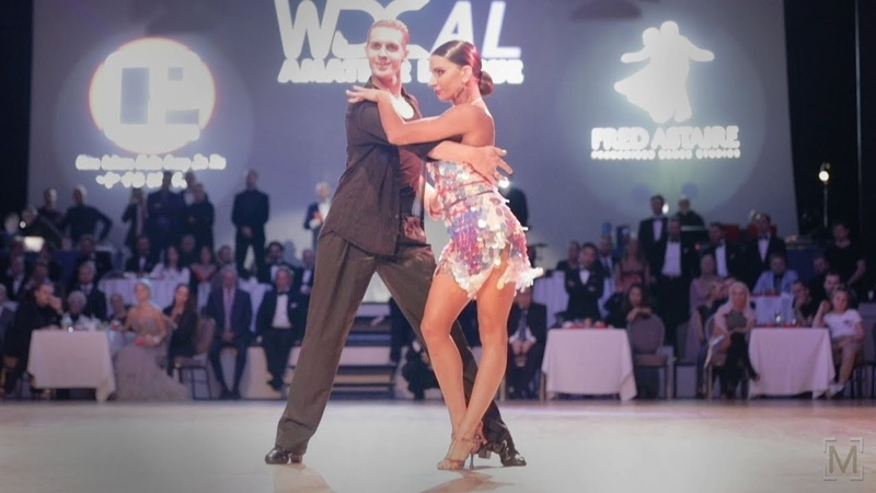 Troels Bager - Ina Jeliazkova   Disney 2018 - Professional Latin American Showdance - Chacha