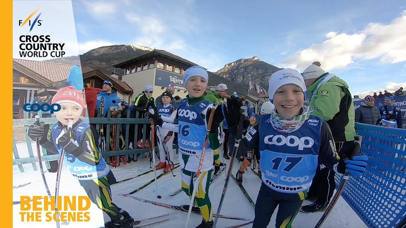 Getting kids engaged at the Coop Mini World Cup | FIS Cross Country