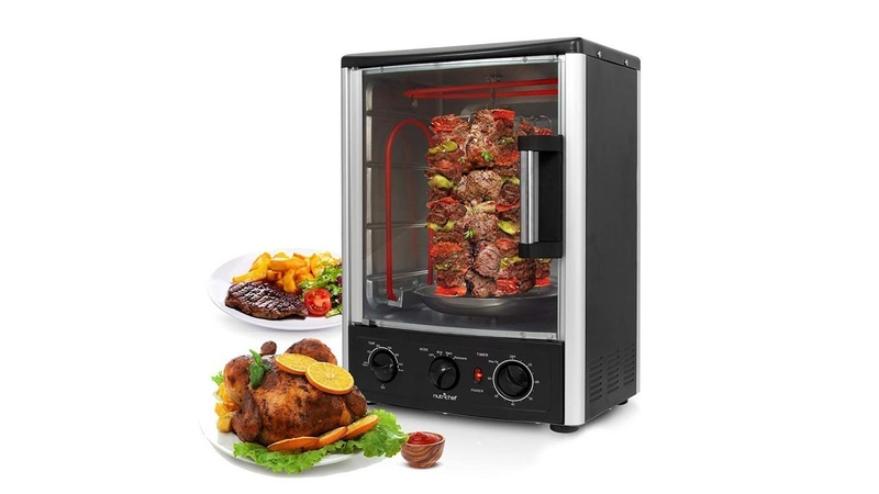 Nutrichef Upgraded Multi Function Rotisserie Oven Review